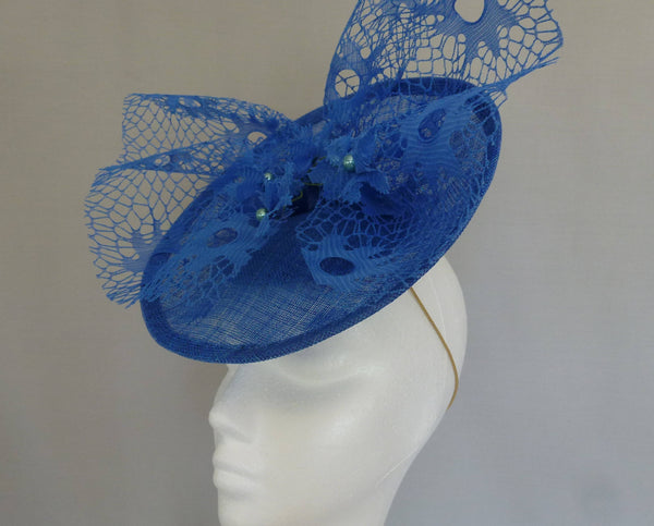 Blue Skies by Carole Bowley Millinery