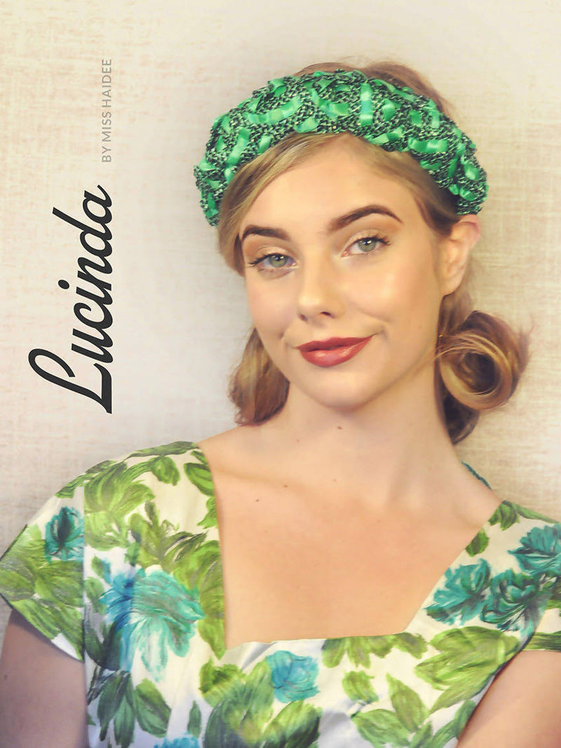 Lucinda by miss haidee millinery