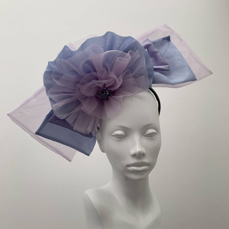 Princess Grace Spring/Summer  Special Occasion  Sinamay  Purple  Fascinator