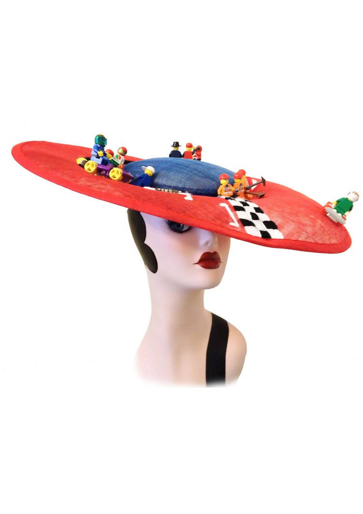 Formula Fun All seasons Special Occasion Multi Coloured Saucer Disc Hats