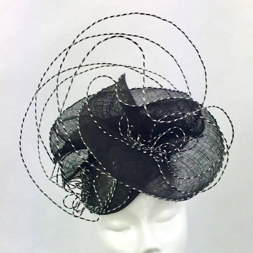 Black and Silver Wired Headdress