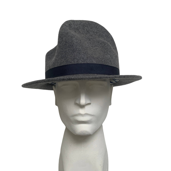 Rare Vivienne Westwood Pharrell Williams World's End Mountain Grey Felt Hat
