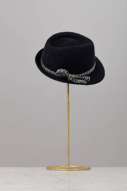 Fur Felt Black Trilby