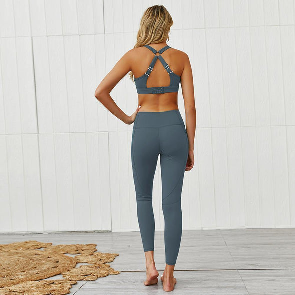 YogaSportWear Beverly Pocket Zip Set