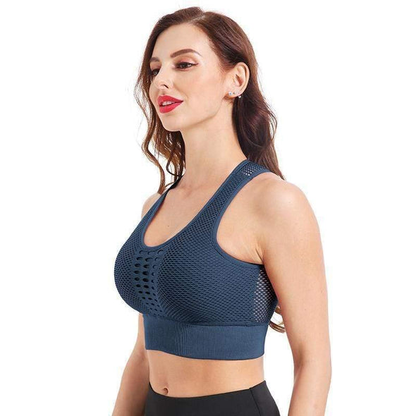 YogaSportWear Blue / L Bridget Power Bra