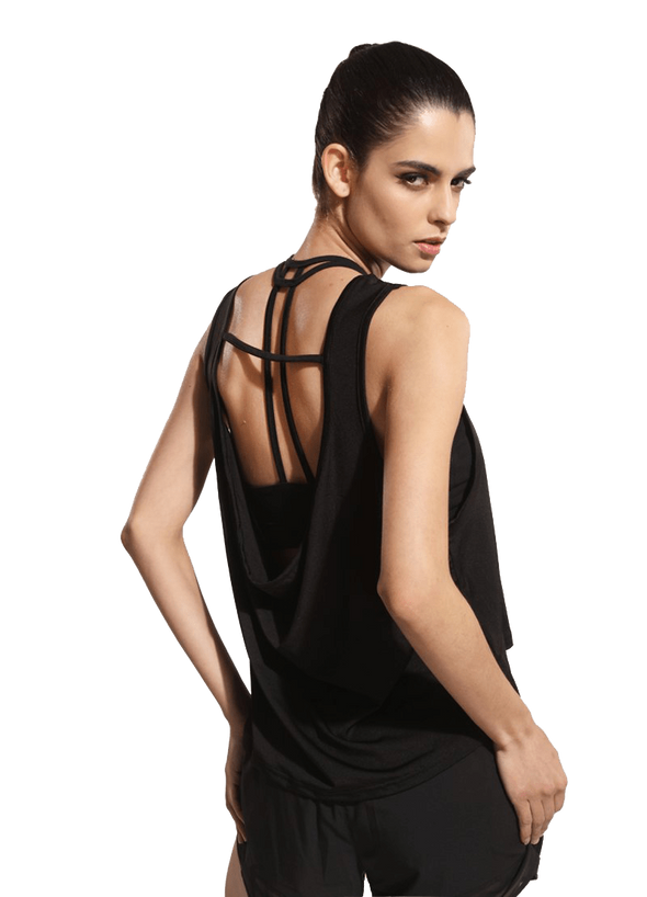 YogaSportWear Candice Backless Tank