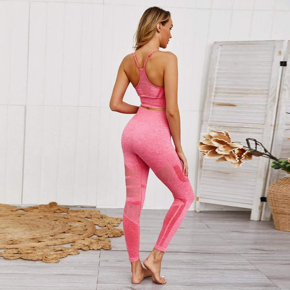 YogaSportWear Lavender pink / S Jamie Point Set