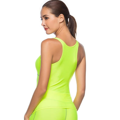 YogaSportWear Fluo Green / L Mary Select Tank