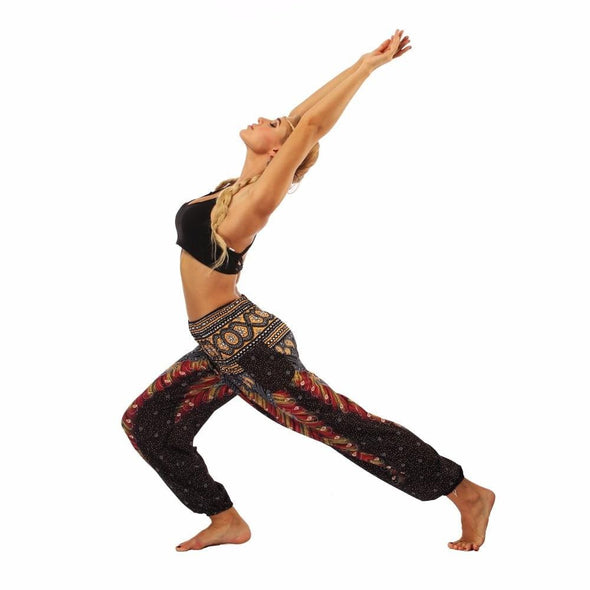YogaSportWear Black feather / One Size Nadine Meditation Sweet