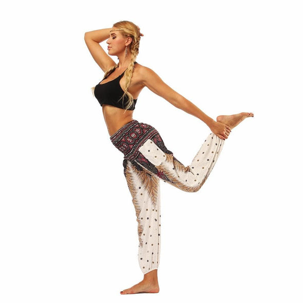 YogaSportWear White feather / One Size Nadine Meditation Sweet