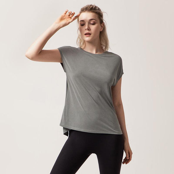 YogaSportWear Gray green / L Teresa Air Shirt