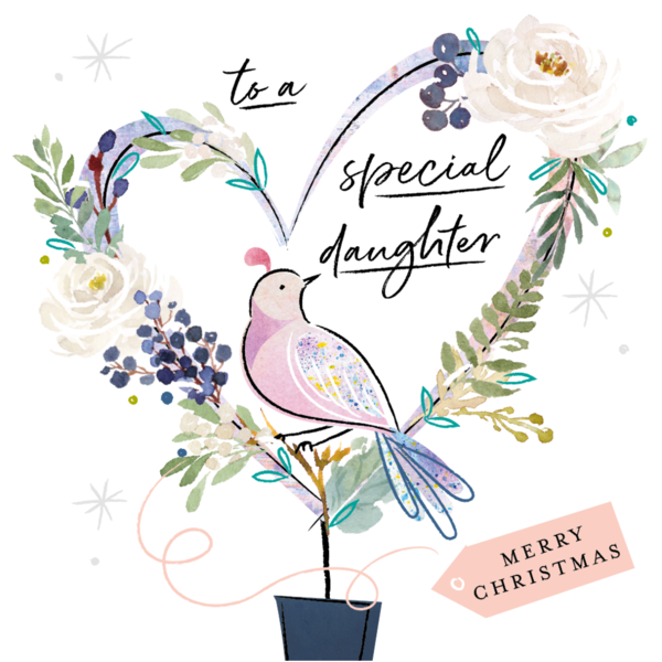 To a Special Daughter Merry Christmas