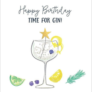 Happy Birthday - Time for Gin!