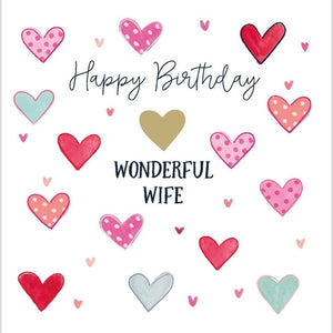 Happy Birthday Wonderful Wife