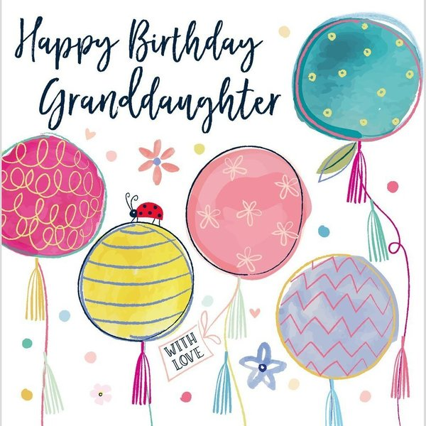 Happy Birthday Granddaughter