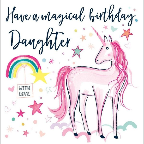 Have a Magical Birthday Daughter