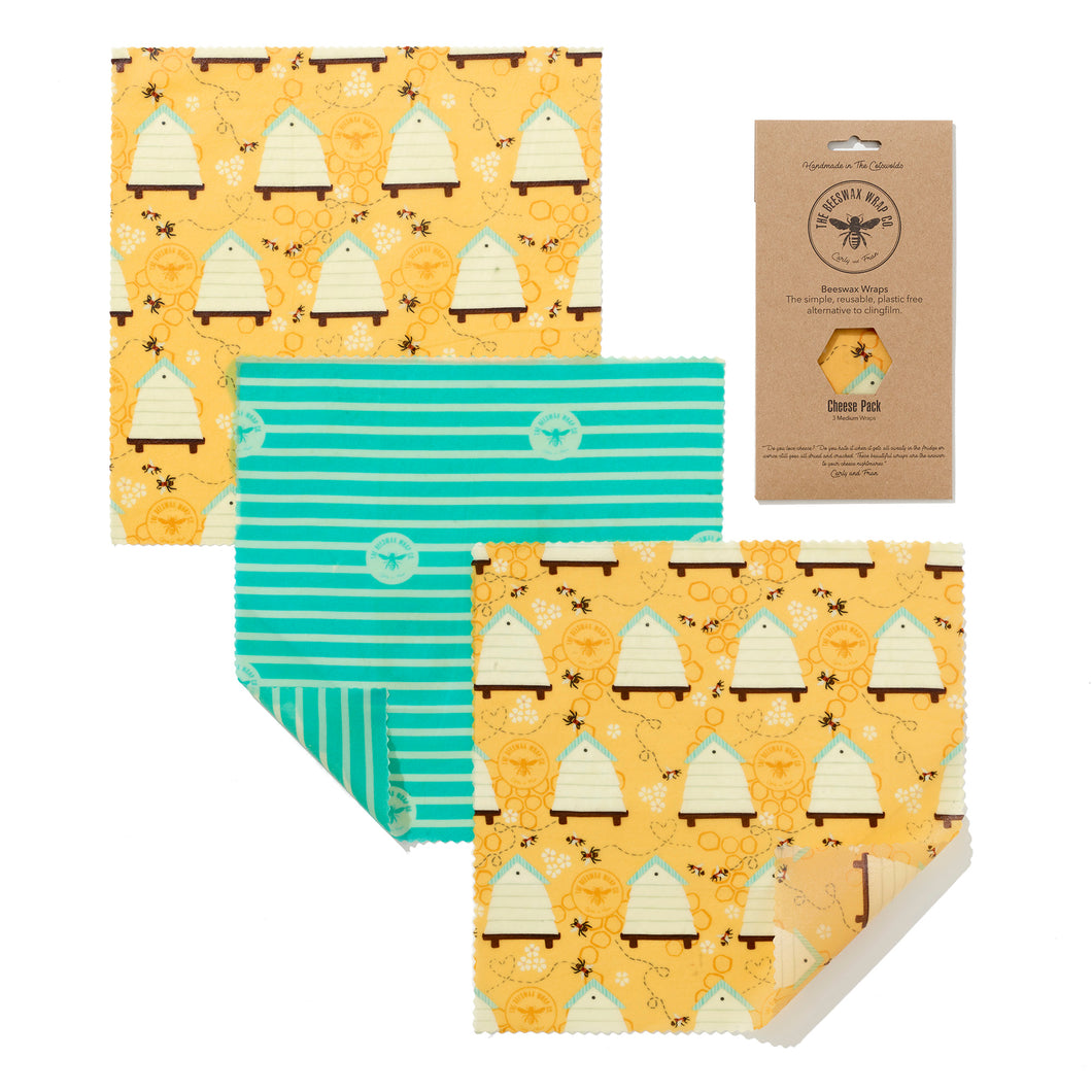Beeswax food wraps - cheese pack