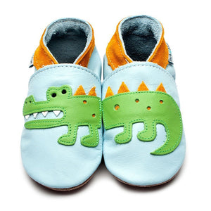 Inch Blue Shoes - Crocodile