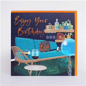 Enjoy Your Birthday card