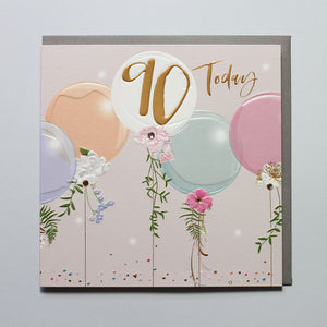 90 Today - balloons