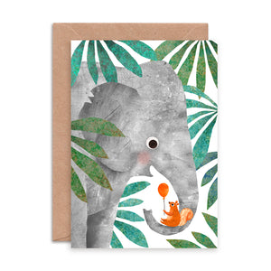 Elephant and Squirrel