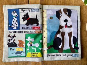 Dogs Crinkly Newspaper