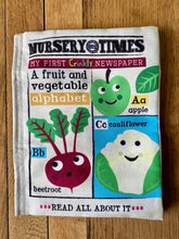 Load image into Gallery viewer, Fruit and Veg Crinkly Newspaper