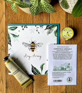 Stay Strong - bee themed care parcel