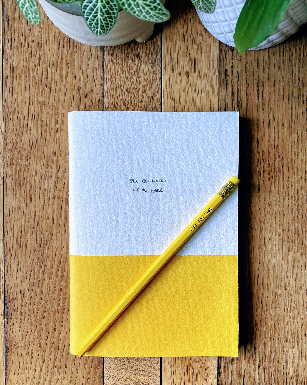 You Got This - A5 notebook and pencil set