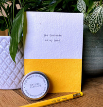 Load image into Gallery viewer, Smaller Notebook gift set yellow