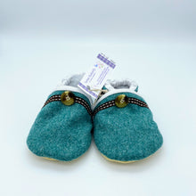 Load image into Gallery viewer, Moon Wool Baby Shoes - jade green