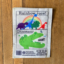Load image into Gallery viewer, Rainbow Dinosaurs Crinkly Newspaper