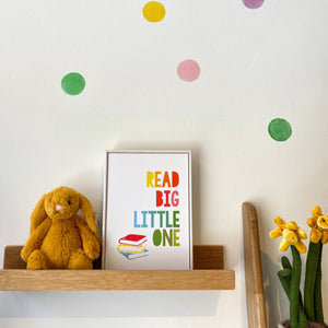 Read Big Little One - framed print
