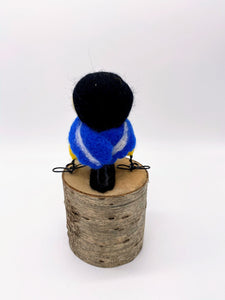 Needle Felted Great Tit