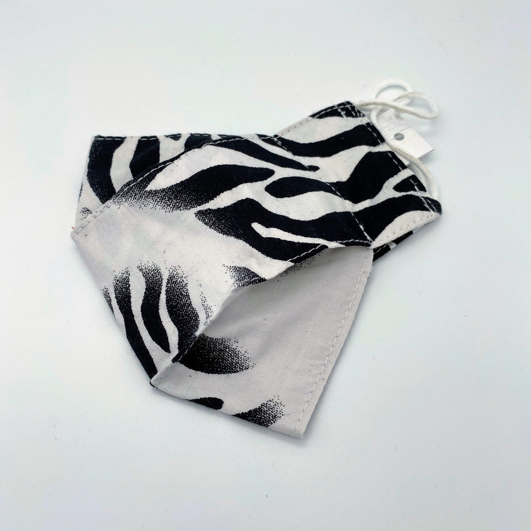 Animal Print zebra - face mask non wired
