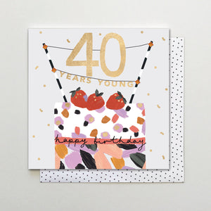 40 Years Young - Happy Birthday