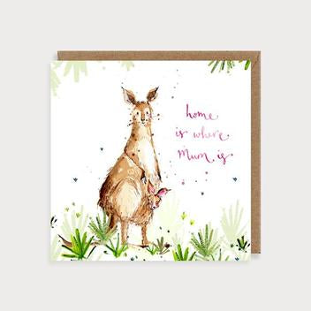 Home is where Mum is - kangaroo