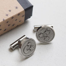 Load image into Gallery viewer, 'Moon and Back' cufflinks