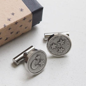 'Moon and Back' cufflinks
