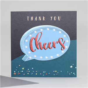Thank You Cheers card