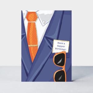 Have a Dapper Birthday card