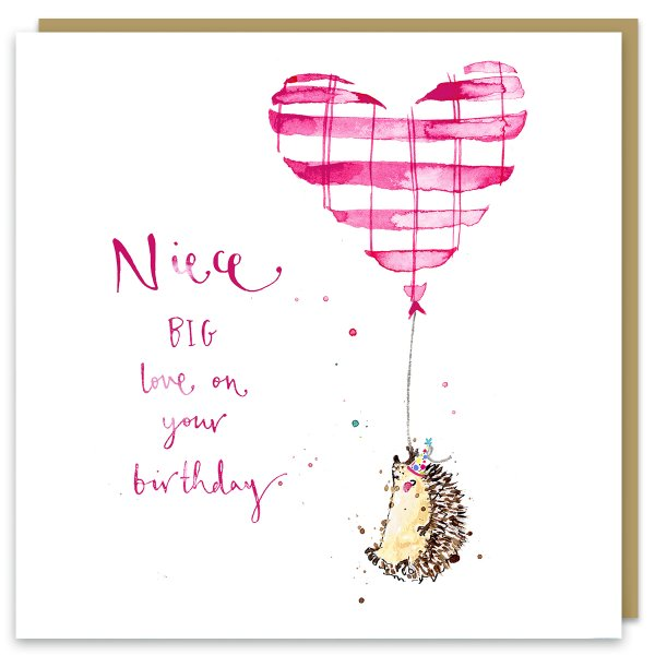 Niece - BIG love on your Birthday