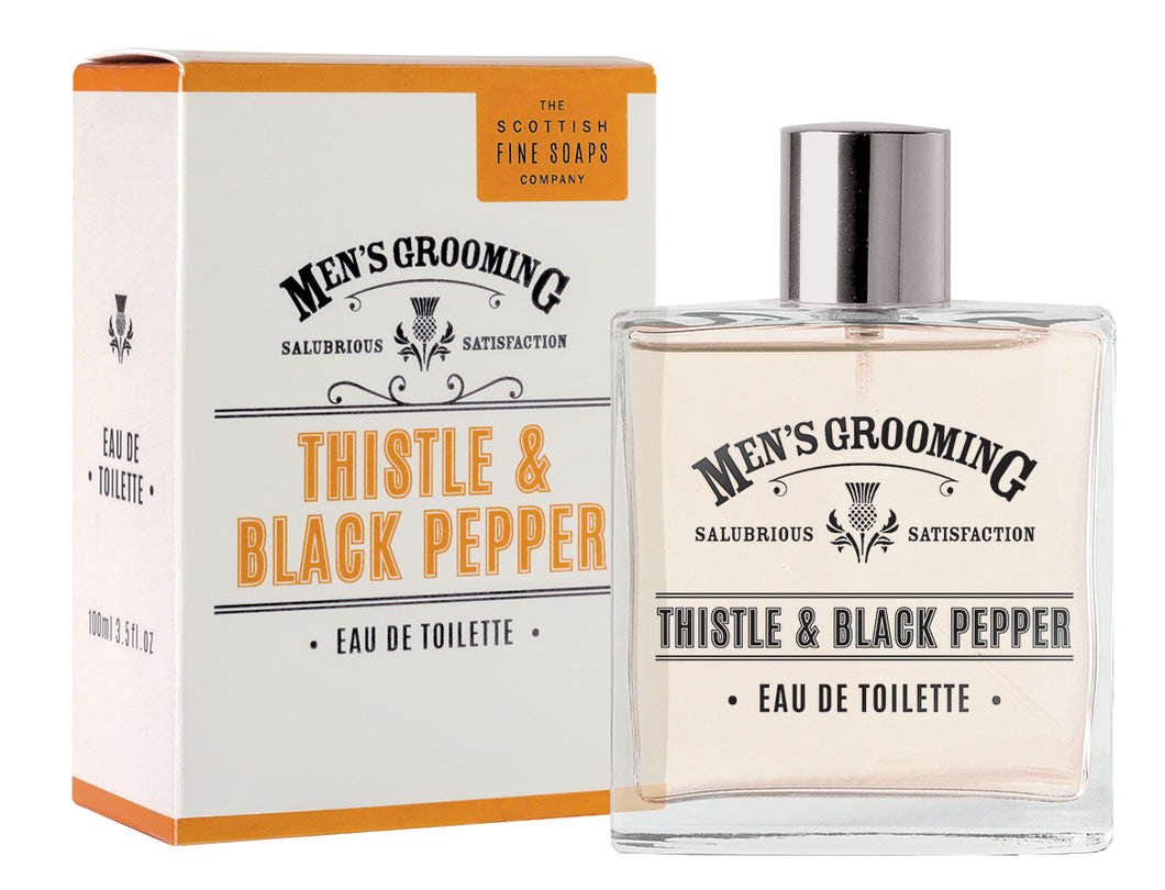Thistle and Black Pepper Eau De Toilette 100ml