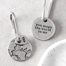 Load image into Gallery viewer, 'You Mean the World to Me' keyring