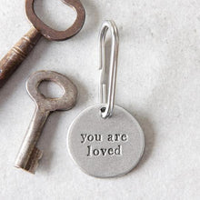 Load image into Gallery viewer, 'You Are Loved' keyring