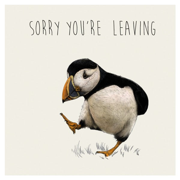 Sorry You're Leaving - larger card