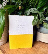 "Load image into Gallery viewer, ""The Contents of My Head"" Yellow A6 Notebook"