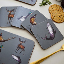 Load image into Gallery viewer, Country Estate Coaster Set