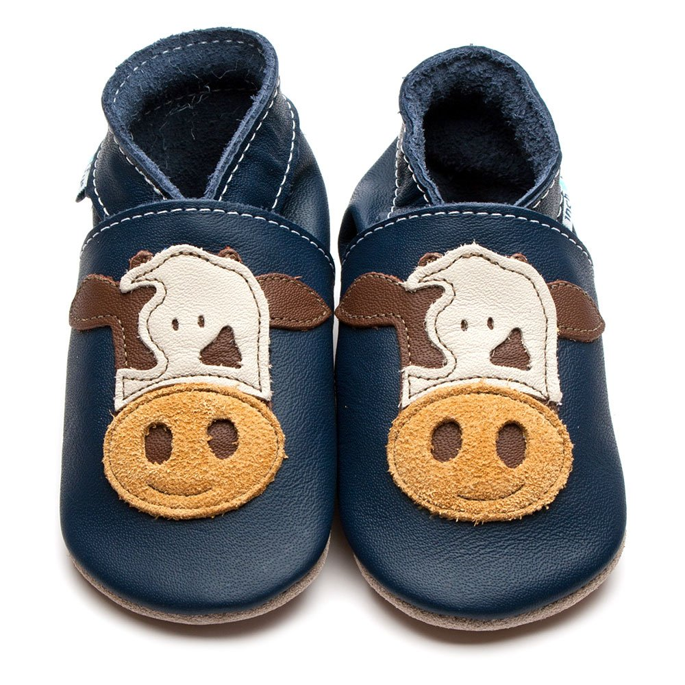 Inch Blue Shoes - Cow