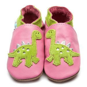 Inch Blue Shoes - Dino pink